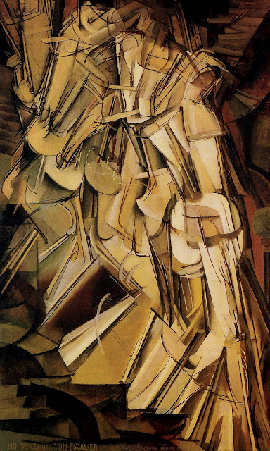 Duchamp's Nude Descending a Staircase