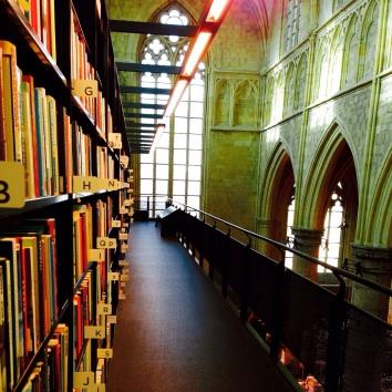 Book shop in a church